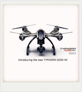 fantastic Yuneec Q500 4K Typhoon