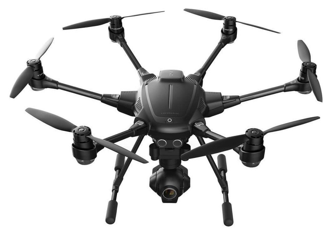 Yuneec Typhoon H Collision Avoidance Hexacopter Review , With Best Flight Time