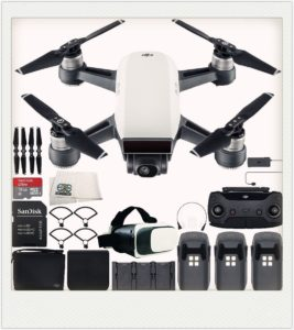 stylish DJI Spark portable mini-drone