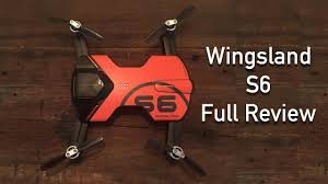 Remarkable WingsLand S6 drone