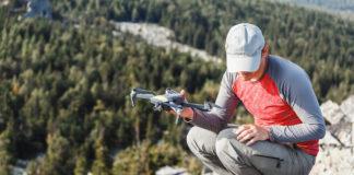 hiking drone