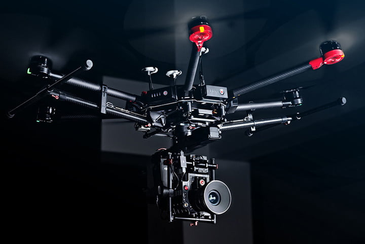 Remarkable DJI Matrice 600 Pro Hexacopter