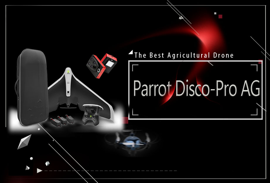 Parrot Disco Pro AG – Best Agricultural Drone