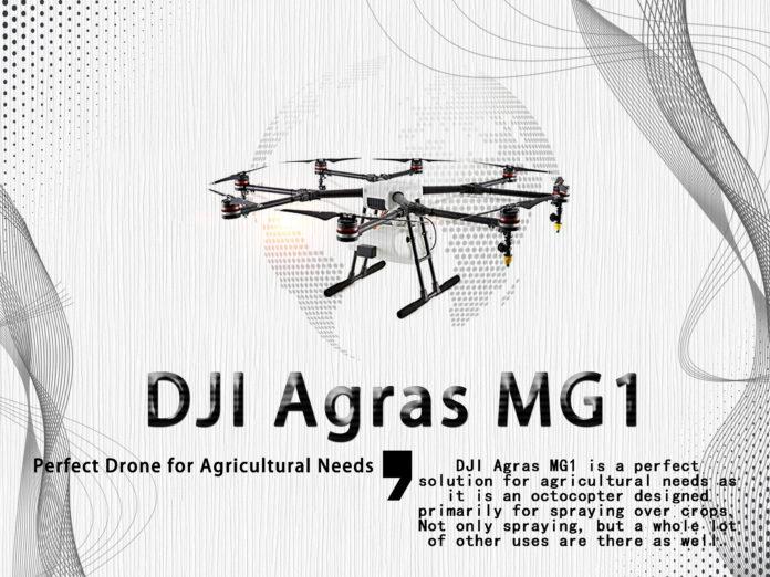 Outstanding DJI Agras MG1