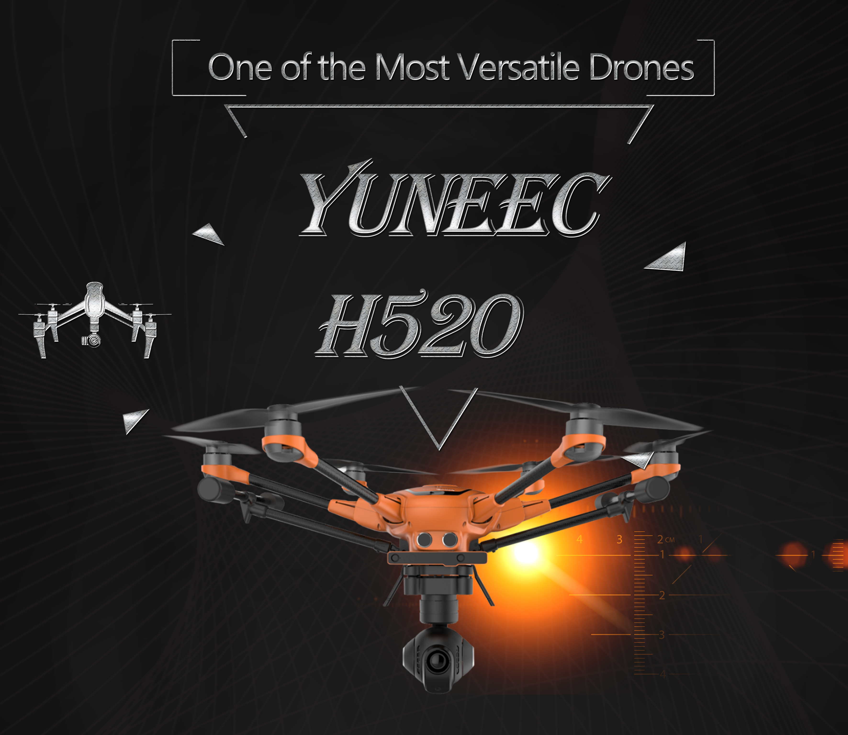 Yuneec H520 – One of the Most Versatile Drones