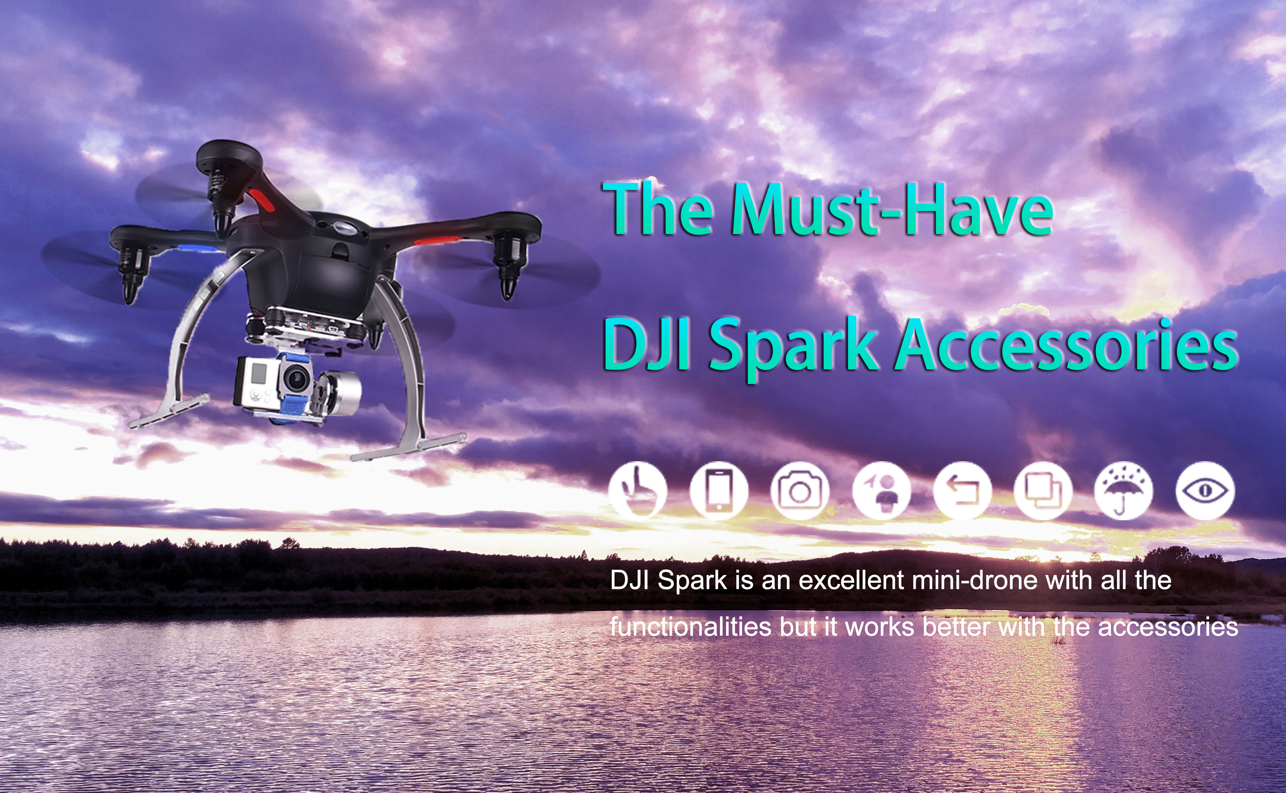Top 8 Must - Have DJI Spark Accessories - Outstanding Drone