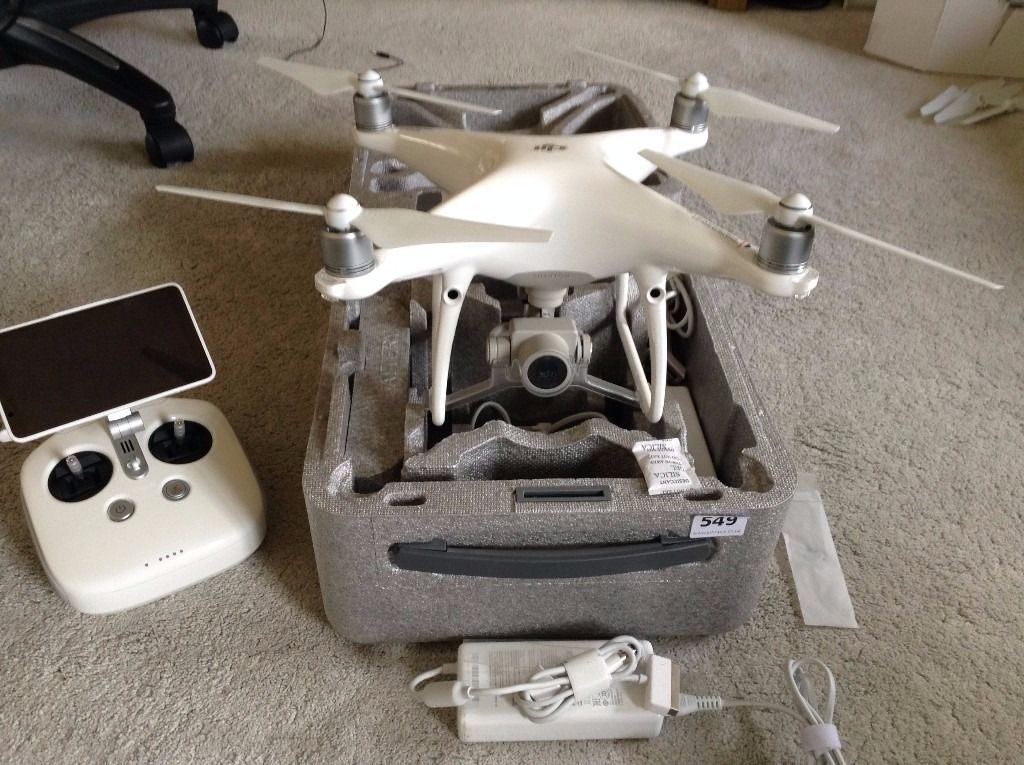 Excellent DJI Phantom 4 Pro Plus Quadcopter Kit