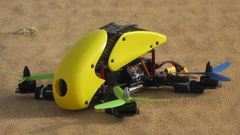 splendid LHI FPV Mini Robocat Quadcopter Race Copter Frame Kit