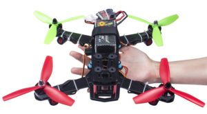 Brilliant LHI FPV Mini Robocat Quadcopter Race Copter Frame Kit