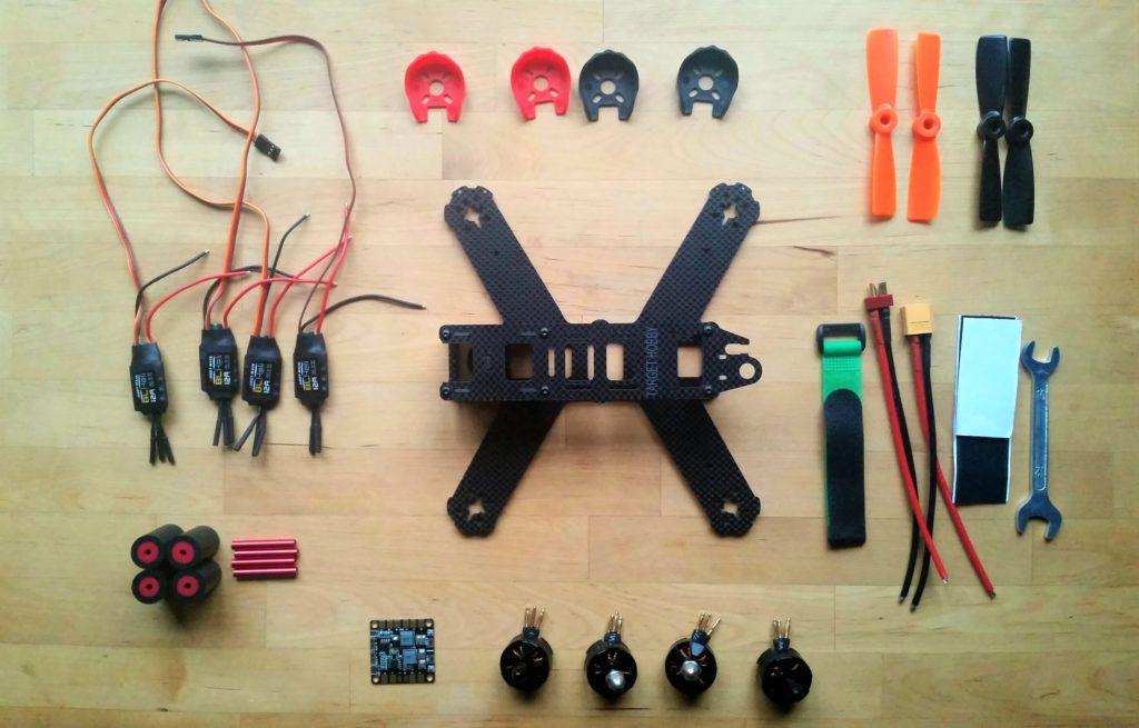 top Targethobby QAV210 Quadcopter Kit
