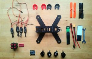 top Targethobby QAV210 Quadcopter Kit