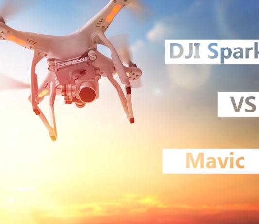 DJI Spark vs Mavic