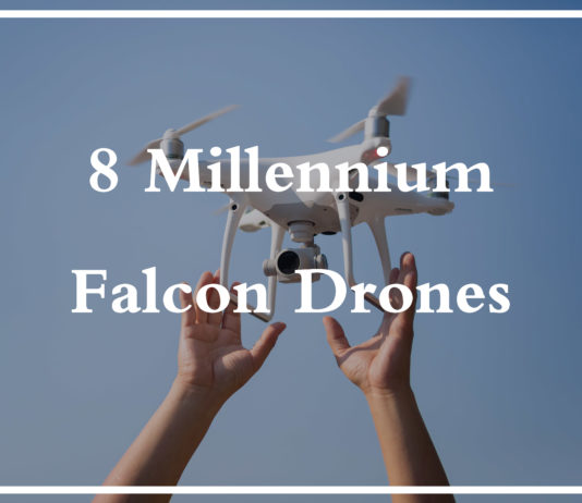Millennium Falcon Drone