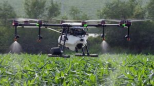DJI Agras MG-1 Precision Spraying custom Drone