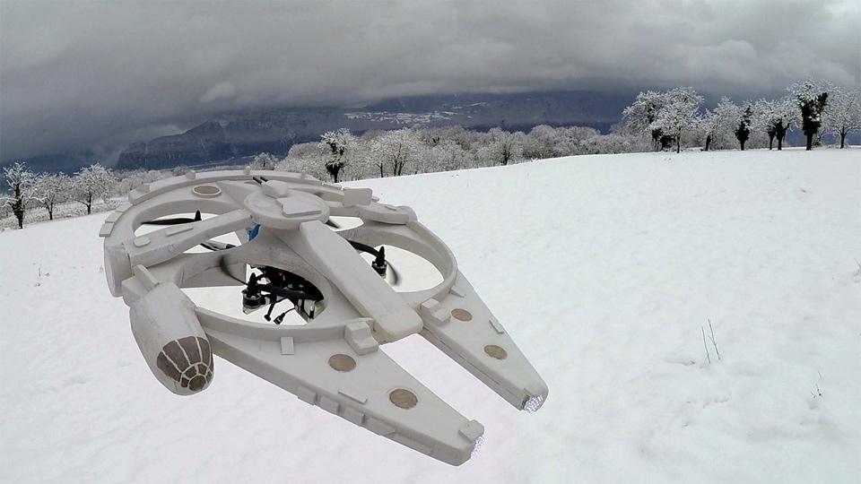 Air Hogs Millennium Falcon Drone