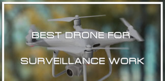 Top 10 Quadcopters for Drone Surveillance Work