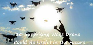 drone usage in future