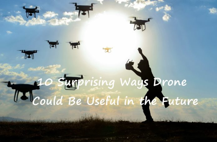 drone usage in future
