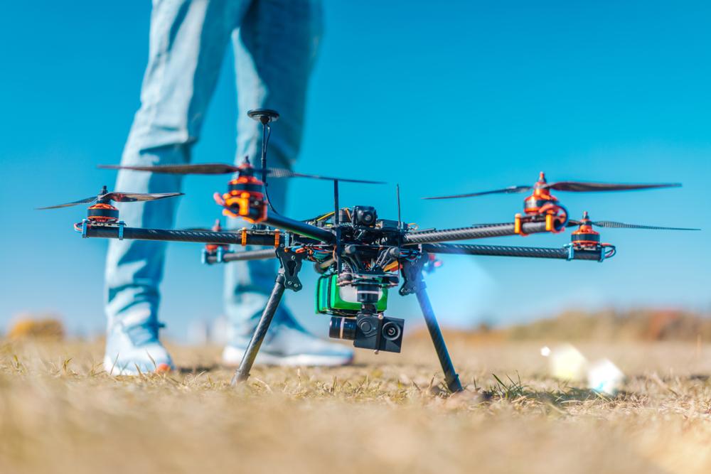 Top blockchain powered drone