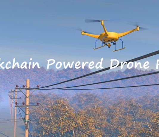 Blockchain Powered Drones