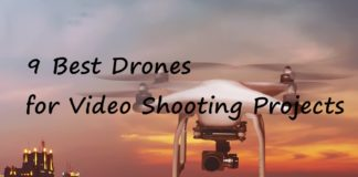 best video shooting drone