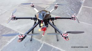 FlyByCopters Thermal Imaging X6 640 4K UHD Hexacopter