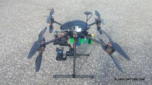 FlyByCopters X8 336 Quadcopter Drone
