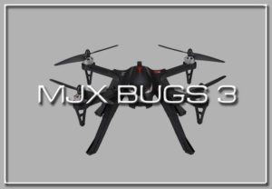 MJX Bugs 3: Drones with the Best Flight Time