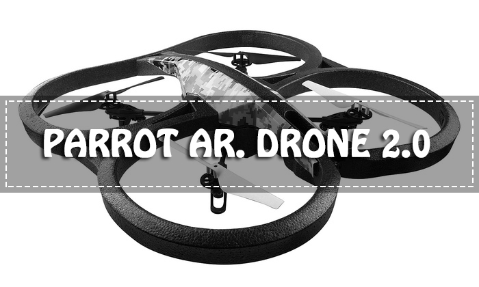 Parrot AR. Drone 2.0 for the Flying-Enthusiast