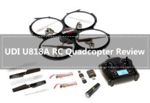UDI U818A RC Quadcopter Drone Review