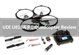 UDI U818A RC Quadcopter Drone Review