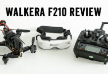 Walkera F210 review