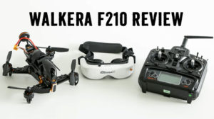 Walkera F210: The Right FPV Racing Drone for Smooth Flights