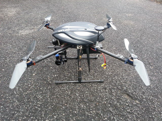 X4 336 Quadcopter Drone by FlyByCopters
