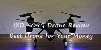 outstanding JXD 509G Drone