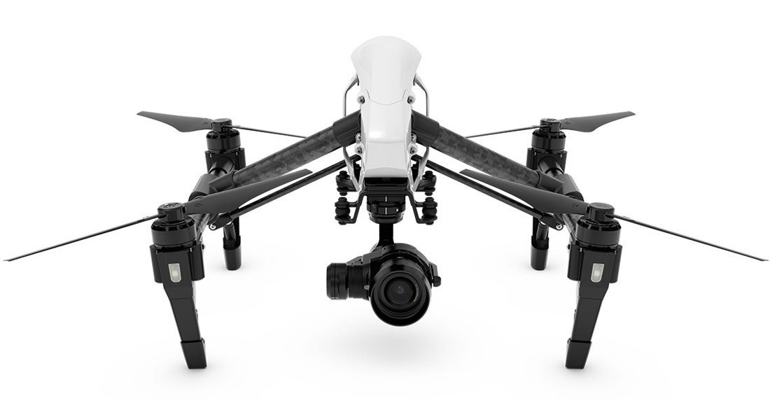 DJI Inspire 1 Pro with 4K Zenmuse X5 Camera